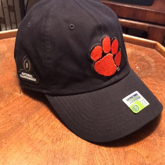 Nike Clemson National Championship hat. M 5ad166516bf5a688c12fa2f7 cbab6ec52a8